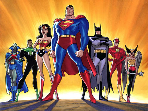 Justice League of America por Bruce Timm